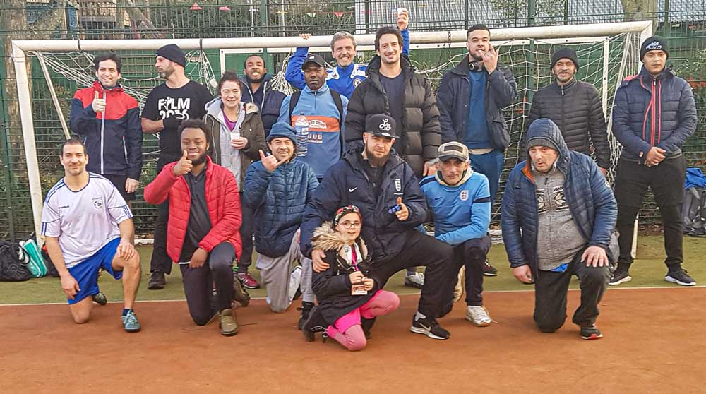 A photo of Minds United football group